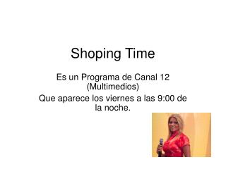 Shoping Time