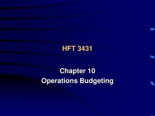 HFT 3431