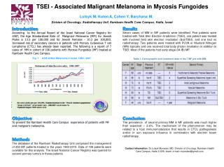 TSEI - Associated Malignant Melanoma in Mycosis Fungoides