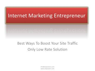 Online Marketing with low rates articles and blogs