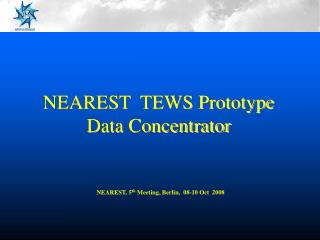NEAREST  TEWS Prototype Data Concentrator