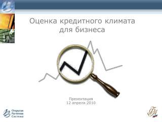 Оценка кредитного климата  для бизнеса