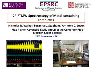 CP-FTMW Spectroscopy of Metal-containing Complexes