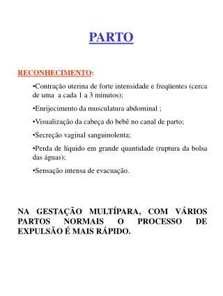 PARTO