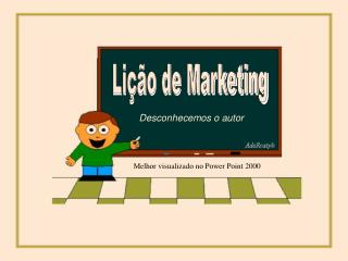 Lição de Marketing