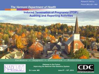 Induced Termination of Pregnancy (ITOP): Auditing and Reporting Activities