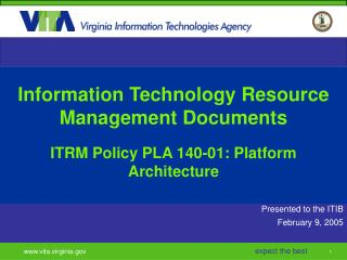 Information Technology Resource Management Documents