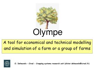 A tool for economical and technical modelling  and simulation of a farm or a group of farms
