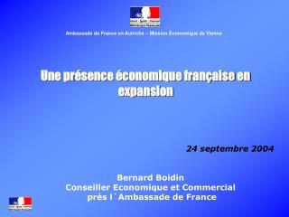 Une présence économique française en expansion