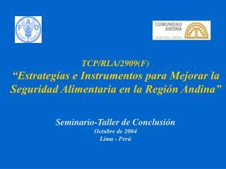TCP/RLA/2909