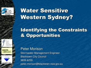 Water Sensitive Western Sydney? Identifying the Constraints & Opportunities