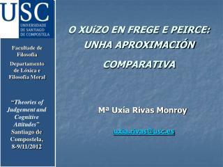 M� Ux�a Rivas Monroy uxia.rivas@usc.es