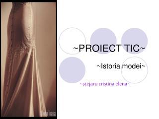 ~PROIECT TIC~