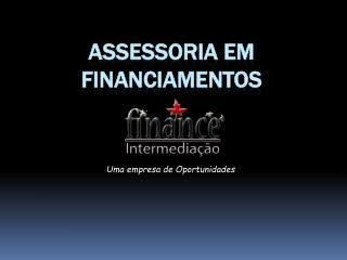 Assessoria em financiamentos