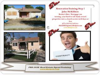FHA 203K   Real Estate Agent Training bbclpctr
