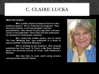 C. Claire Lucka