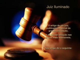 Juiz Iluminado