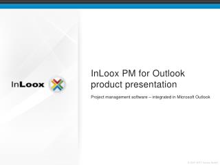 InLoox PM for Outlook product presentation