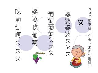 ㄅㄆㄇ 數來寶(作者 :朱阿莉老師 )