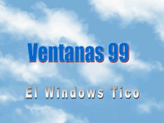 El Windows Tico
