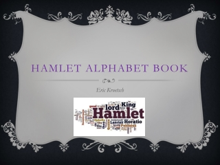Hamlet s Cast of Characters