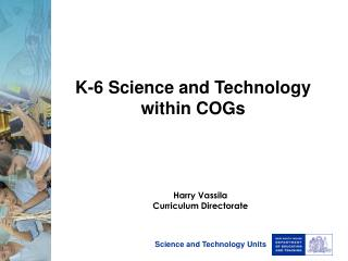 K-6 Science and Technology within COGs