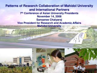 Patterns of Research Collaboration of Mahidol University and International Partners