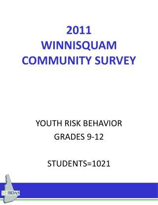 2011 WINNISQUAM        COMMUNITY SURVEY