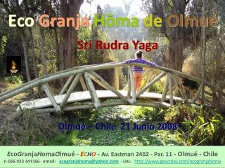 Eco  Granja Hōma de Olmué