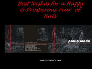 Best Wishes for a Happy & Prosperous Year  of Rats