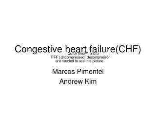 Congestive heart failure(CHF)