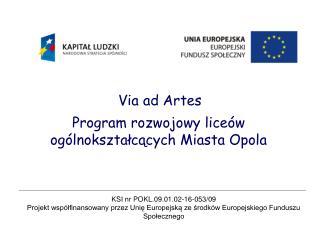 Via ad Artes
