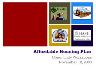 Affordable Housing Plan