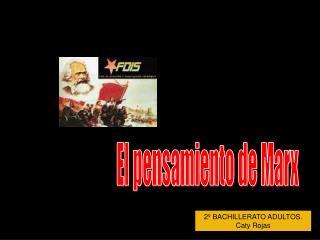 2º BACHILLERATO ADULTOS. Caty Rojas
