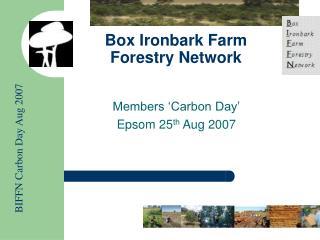 Box Ironbark Farm Forestry Network
