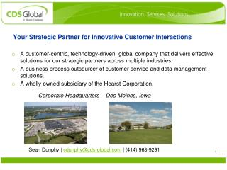 Your Strategic Partner for Innovative Customer Interactions