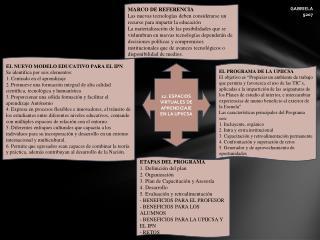 12.  ESPACIOS VIRTUALES DE APRENDIZAJE  EN LA UPIICSA