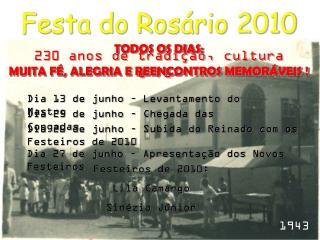 Festa do Rosário 2010