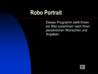 Robo Portrait
