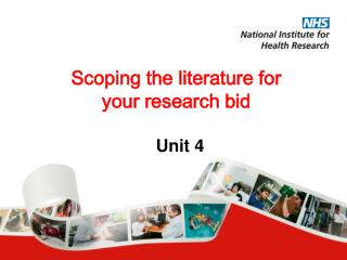 Scoping the literature for your research bid