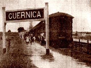 """""""גרניקה"""" הוא שם של ציור ענק ממדים בשחור-לבן שצויר בשמן על ידיפבלו פיקאסו."""