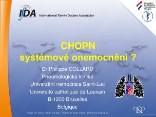 CHOPN systémové onemocnění ?