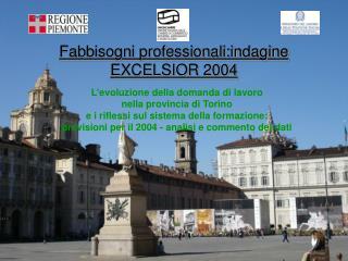 Fabbisogni professionali:indagine EXCELSIOR 2004