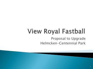View Royal Fastball