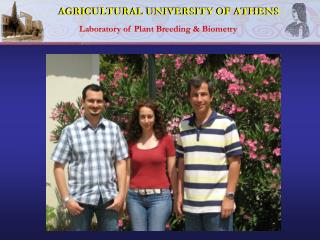 AGRICULTURAL UNIVERSITY OF ATHENS