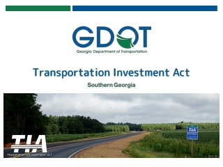 Washington s Port Districts: Transportation Overview