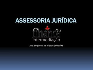ASSESSORIA JURÍDICA
