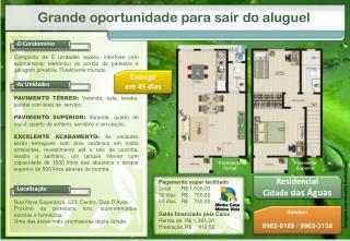 Rua Nova Esperança, 633, Centro, Dias D'Ávila.