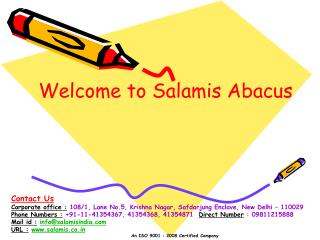 Welcome to Salamis Abacus