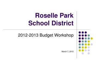 Roselle Park School District
